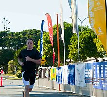 Kingscliff Triathlon 2011 Finish line B5975 by Gavin Lardner