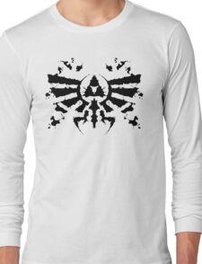 Hyrule Rorschach Long Sleeve T-Shirt