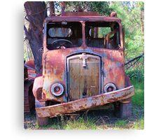 Meet Rusty, the old Thornycroft Trusty Canvas Print