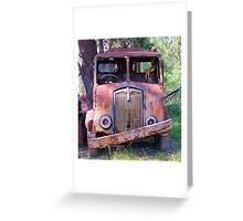 Meet Rusty, the old Thornycroft Trusty Greeting Card