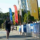 Kingscliff Triathlon 2011 Finish line B5999 by Gavin Lardner