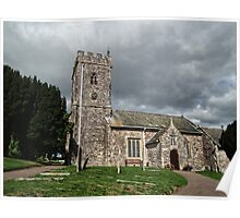The Parish Church of St Margaret & St Andrew, Littleham Poster