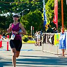 Kingscliff Triathlon 2011 Finish line B6008 by Gavin Lardner
