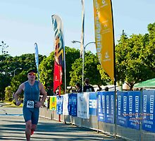 Kingscliff Triathlon 2011 Finish line B6010 by Gavin Lardner