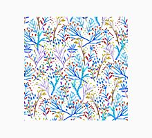 Pretty watercolor winter foliage pattern design Unisex T-Shirt