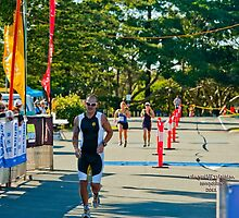 Kingscliff Triathlon 2011 Finish line B6021 by Gavin Lardner