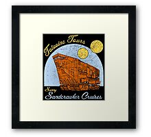 Tatooine Tours Framed Print