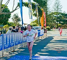 Kingscliff Triathlon 2011 Finish line B6028 by Gavin Lardner