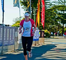 Kingscliff Triathlon 2011 Finish line B6043 by Gavin Lardner