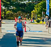 Kingscliff Triathlon 2011 Finish line B6055 by Gavin Lardner