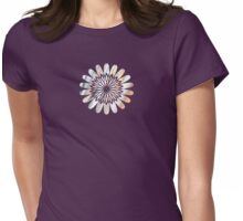 Silver Glow - JUSTART © Womens Fitted T-Shirt