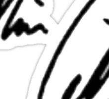 Misha Collins Signature Sticker