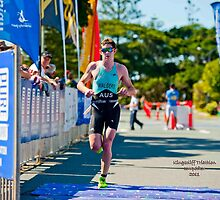Kingscliff Triathlon 2011 Finish line B6128 by Gavin Lardner