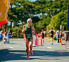 Kingscliff Triathlon 2011 Finish line B6152 by Gavin Lardner