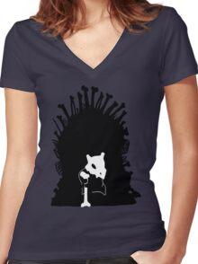 Game of Bones Women's Fitted V-Neck T-Shirt