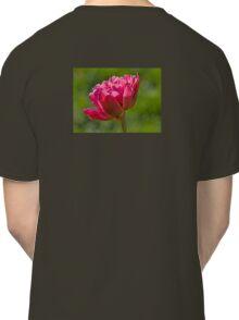 Backlit Fluffy Tulip Classic T-Shirt