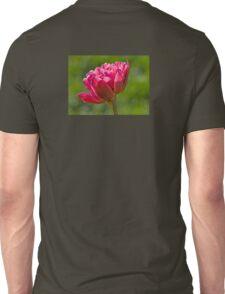 Backlit Fluffy Tulip Unisex T-Shirt