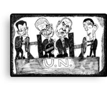 UN Presidential Vice-Grip Canvas Print