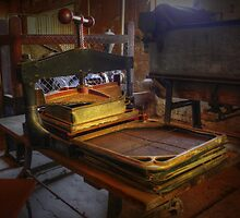Preserving the past ~ Book Press ~ Goulburn Brewery ~ NSW by Rosalie Dale