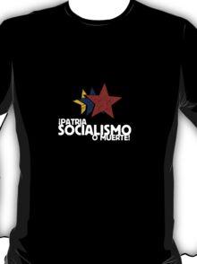 Patria, Socialismo o Muerte T-Shirt