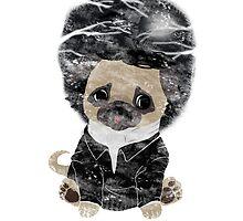 Edgar Allan Pug by Andrea Orto