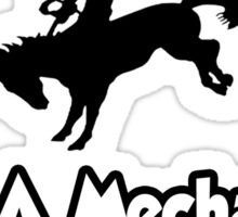 Save a Horse, Ride a Mechanical Engineer Sticker