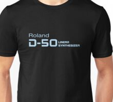 Vintage Roland D50 Synth Unisex T-Shirt