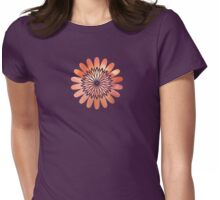 Inner Flower - JUSTART © Womens Fitted T-Shirt