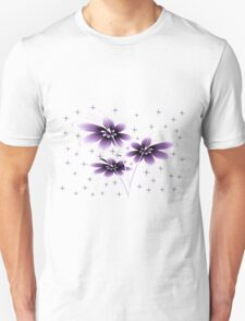 beautiful glowing flowers T-Shirt