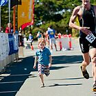 Kingscliff Triathlon 2011 Finish line B6225 by Gavin Lardner