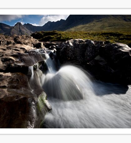 River Brittle and the Black Cuillins Sticker