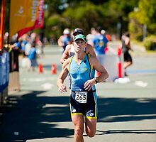 Kingscliff Triathlon 2011 Finish line B6274 by Gavin Lardner