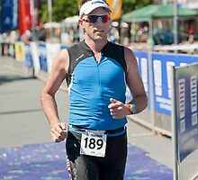 Kingscliff Triathlon 2011 Finish line B6295 by Gavin Lardner