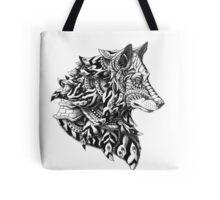 Wolf Profile Tote Bag