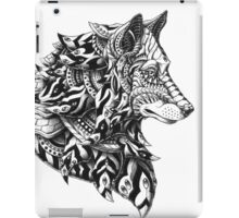 Wolf Profile iPad Case/Skin