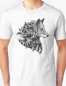 Wolf Profile Unisex T-Shirt