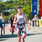 Kingscliff Triathlon 2011 Finish line B6342 by Gavin Lardner
