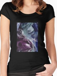 Reflective journey to other dimensions Women's Fitted Scoop T-Shirt