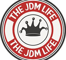The jdm life badge - red by TswizzleEG