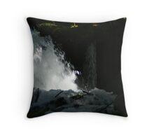 Big Creek Falls, Washington Throw Pillow