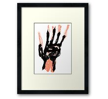 Dead Hand Framed Print