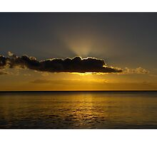 Sunset Hervey Bay Photographic Print