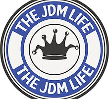 The jdm life badge - blue by TswizzleEG