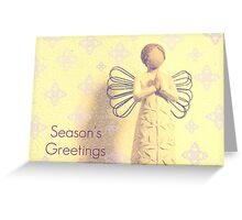 Among the Angels   - JUSTART ©  Greeting Card