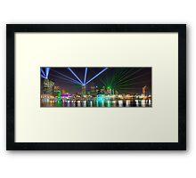 Brisbane Festival • Queensland • Australia Framed Print