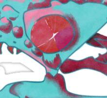 Gila Monster Skull Sticker
