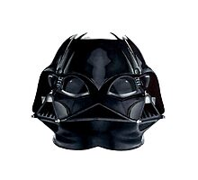 Darth Vader (double headed) Photographic Print