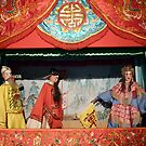 Chinese puppet theatre by machka