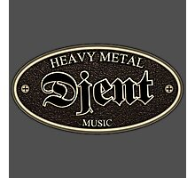 Heavy Metal Djent Photographic Print