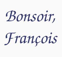 Bonsoir, Francois Baby Tee